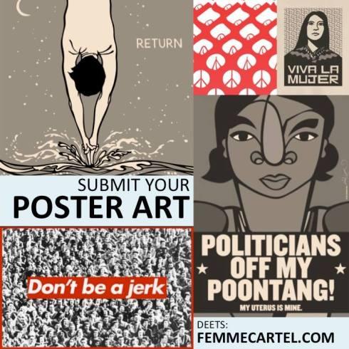 femme cartel poster art